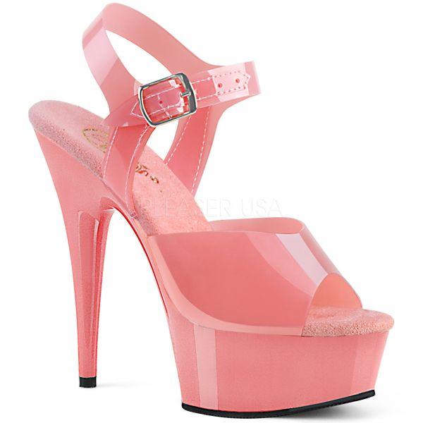 Plateau Sandalette DELIGHT-608N baby pink
